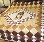Quilt Raffle for 20th Annual Ramble